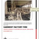 Tazreen Report Cover