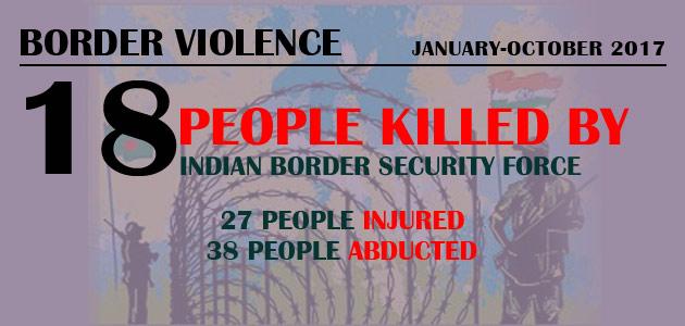 Border Violence : January-October 2017