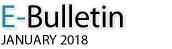 E-Bulletin, January 2018
