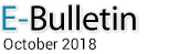 E-Bulletin, October 2018