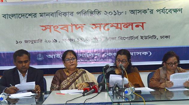 Human Rights Situation in Bangladesh, 2018
