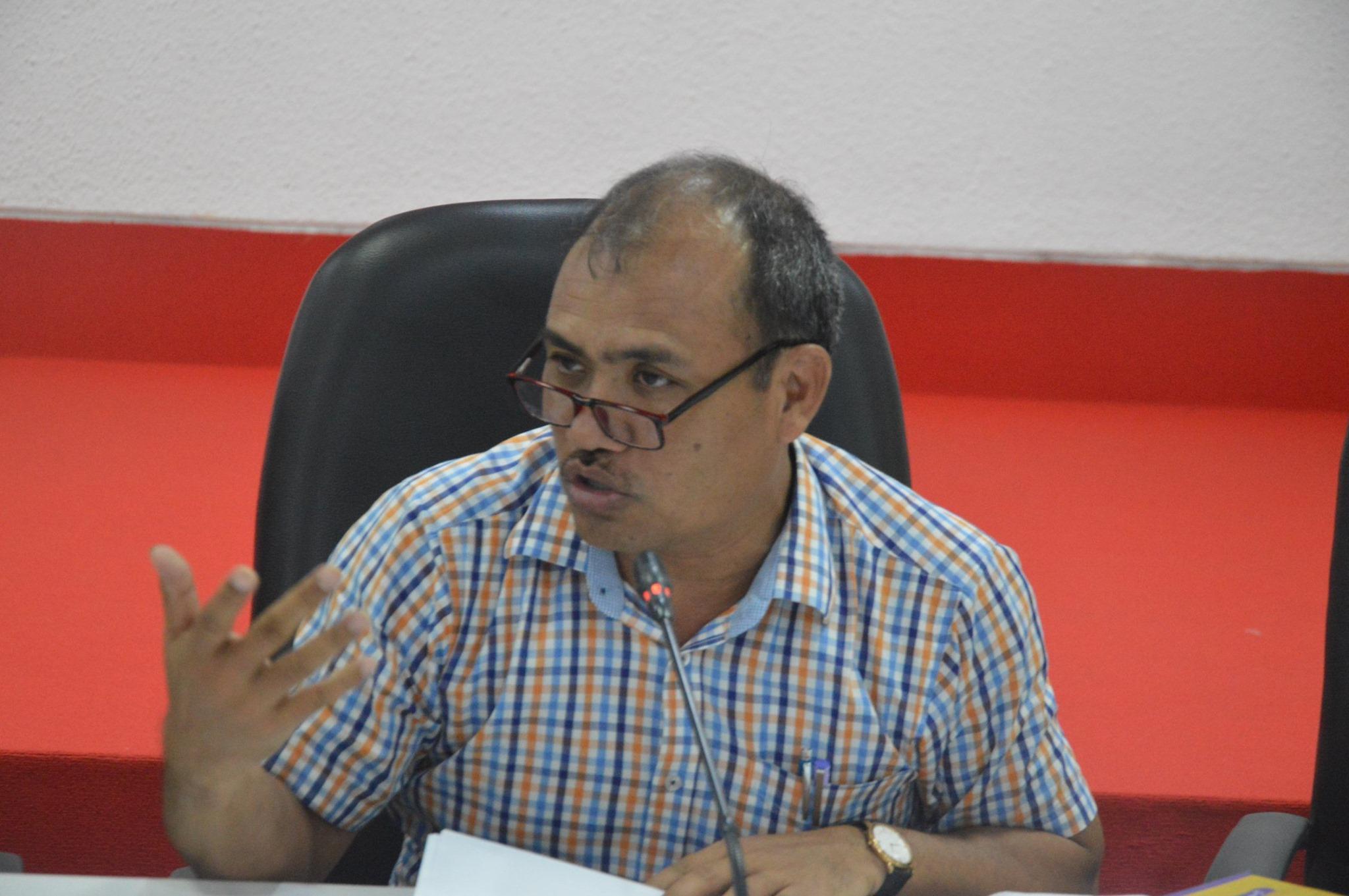 Sanjeeb Drong, General Secretary, Bangladesh Indigenous Peoples' Forum