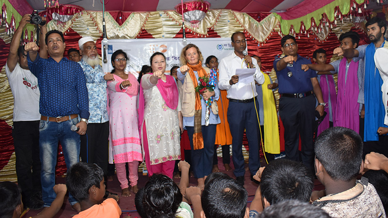 Oath-taking-ceremony-after-the-theatre-show-with-the-presence-of-Dr-Asa,-community-people-and-the-multi-sectoral,-CSOs-and-media-representatives