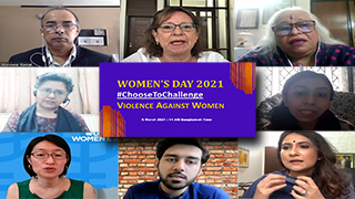 Women's Day 2021Choose To Challenge Violence Against Women